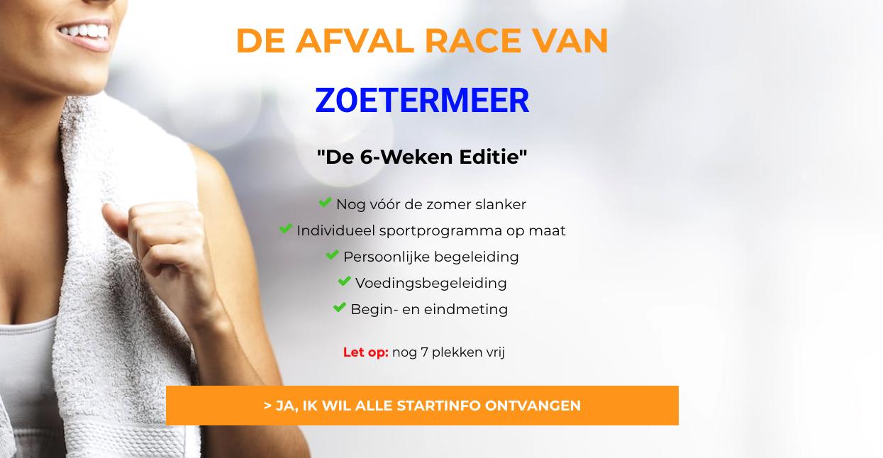 De grootste Afval Race van Zoetermeer!